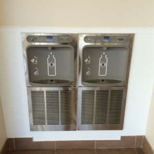 whrhs double bottle filling station